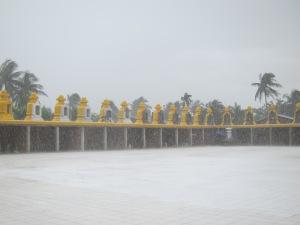 When not hot, its raining...a lot.