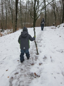 Snow & Walks in the Forest!!!