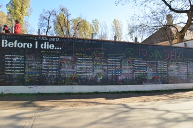 Before I die...extended view
